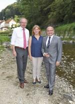 Imbacher Ortsteil Am Gries nun vor Hochwasser sicher